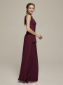 Alicepub Double V-Neck Chiffon Long Formal Evening Prom Dress