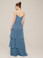 Alicepub Chiffon Long Bridesmaid Dresses for Women Formal Wedding Party Dress