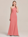 Alicepub High Neck Mermaid Bridesmaid Dresses for Womens Formal Prom Evening Gowns Maxi Dress