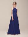 Alicepub Keyhole Chiffon Long Formal Party Dress for Women Wedding