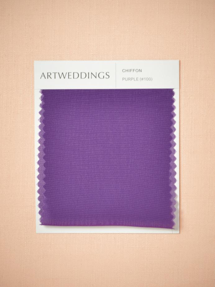 Alicepub Chiffon Swatches for Bridal Dresses