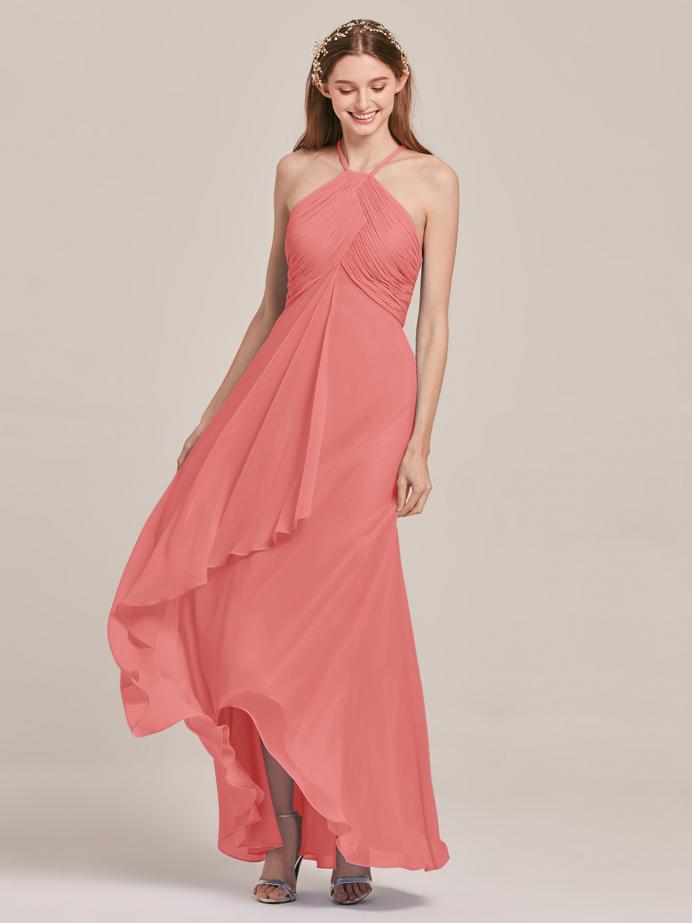 Alicepub Chiffon Bridesmaid Dresses with Formal Party Dress